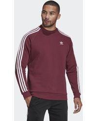 adidas Adicolor Classics 3-Streifen Sweatshirt - Lila