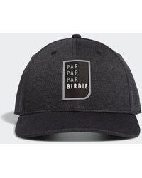 adidas Gorra Par Par Par Birdie Snapback - Negro