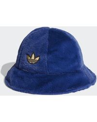 adidas Sprt Faux Fur Vissershoedje - Blauw
