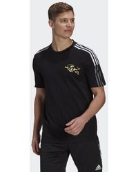 adidas T-shirt CNY Manchester United FC - Nero