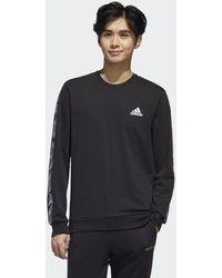adidas Essentials Tape Sweatshirt - Black