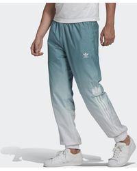 adidas Adicolor 3D Trefoil 3-Streifen Ombré Trainingshose - Weiß