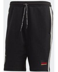 adidas - DFB 3-Streifen Sweat Shorts - Lyst