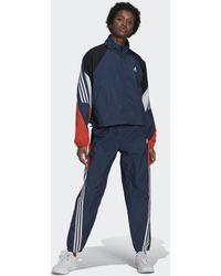 adidas Sportswear Game-Time Woven Trainingsanzug - Blau