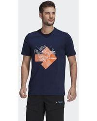 adidas - Travel Graphic T-shirt - Lyst