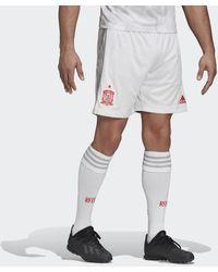 adidas Short Extérieur Espagne - Blanc