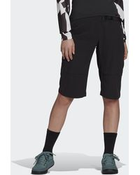 adidas Five Ten Bike Trailx Bermuda Shorts - Black