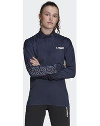 adidas Terrex Xperior Top - Blauw