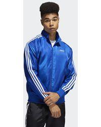 adidas Track jacket Satin Firebird - Blu