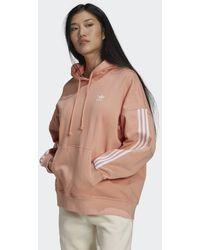 adidas Sudadera con capucha Adicolor Classics Oversize - Rosa