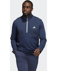 adidas Recycled Content Cold.rdy Quarter-zip Pullover - Blue