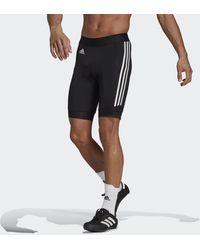 adidas The Strapless Cycling Bib Short - Zwart