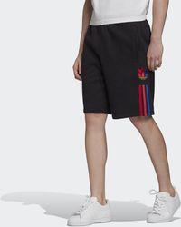 adidas Sweat shorts 3D Trefoil 3-Stripes - Nero
