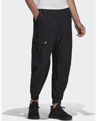 adidas Sportswear Cargo Twill Trousers - Black