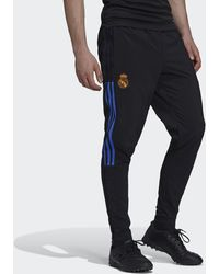 adidas Real Madrid Tiro Presentation Tracksuit Bottoms - Black
