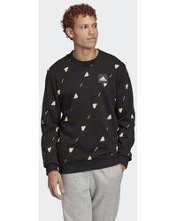 adidas Must Haves Graphic Sweatshirt - Schwarz