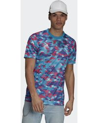 adidas Real Madrid Pre-match Voetbalshirt - Roze