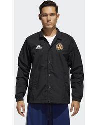 adidas - Atlanta United Fc Tango Coach Jacket - Lyst