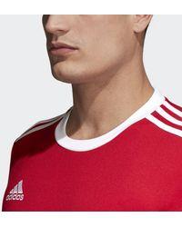 adidas Squadra 17 T-Shirt Herren - Rot