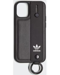 adidas Moulded Hand Strap For Iphone 12 Mini - Black