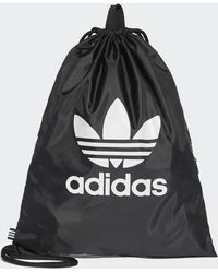 adidas Trefoil Gym Tas - Zwart