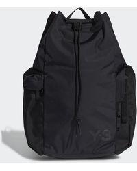 adidas Y-3 Bucket Bag - Black