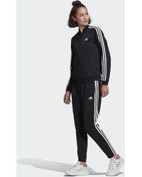 adidas Essentials 3-stripes Track Suit - Black
