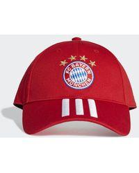 adidas - FC Bayern München Baseball Kappe - Lyst