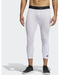 adidas Techfit 3/4-Tight - Weiß