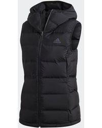 adidas Helionic Down Vest - Black