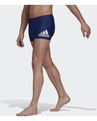 adidas Badge Swim Fitness Boxers - Blue