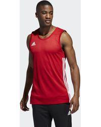 adidas 3g Speed Reversible Shirt - Rood