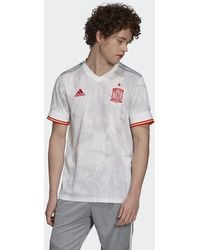 adidas - Spain Away Jersey White - Lyst
