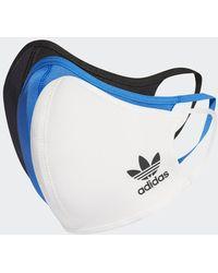 adidas Masque XS/S (3 articles) - Bleu
