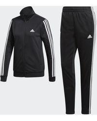 adidas Team Sport Trainingsanzug - Schwarz