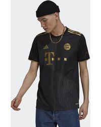 adidas Fc Bayern Munich 2021/22 Away Shirt - Black
