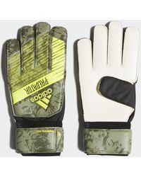 adidas Guantes portero Predator Top Training - Verde