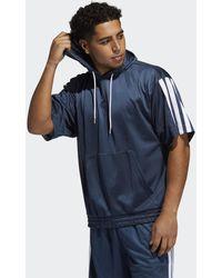 adidas Summer Legend Hoodie - Blauw
