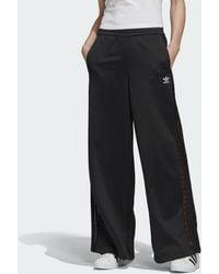 adidas Wide-leg Lace Broek - Zwart
