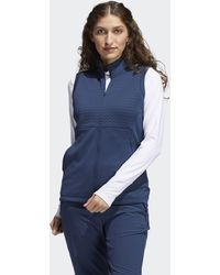adidas Primegreen Cold.rdy Full-zip Vest - Blue