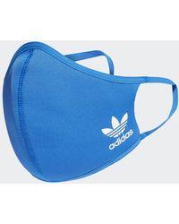 adidas Masque (3 articles) XS/S - Bleu