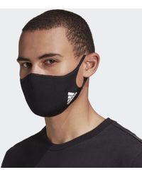 adidas Mondkapje M/l 3-pack - Zwart
