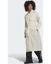 adidas Adicolor Classics Trench Coat - White