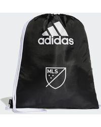 adidas MLS GYMSACK - Nero