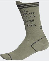 adidas Alphaskin Typo Socken - Grün