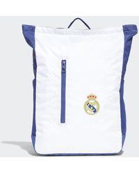 adidas Real Madrid Rugzak - Wit