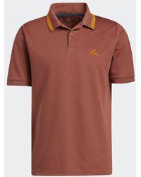 adidas Go-to Primegreen Pique Poloshirt - Rood