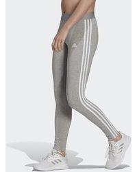 adidas Loungewear Essentials 3-stripes Legging - Grijs