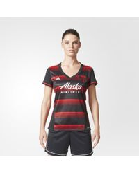 adidas - Timbers Away Jersey - Lyst