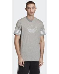 adidas Outline T-Shirt - Grau